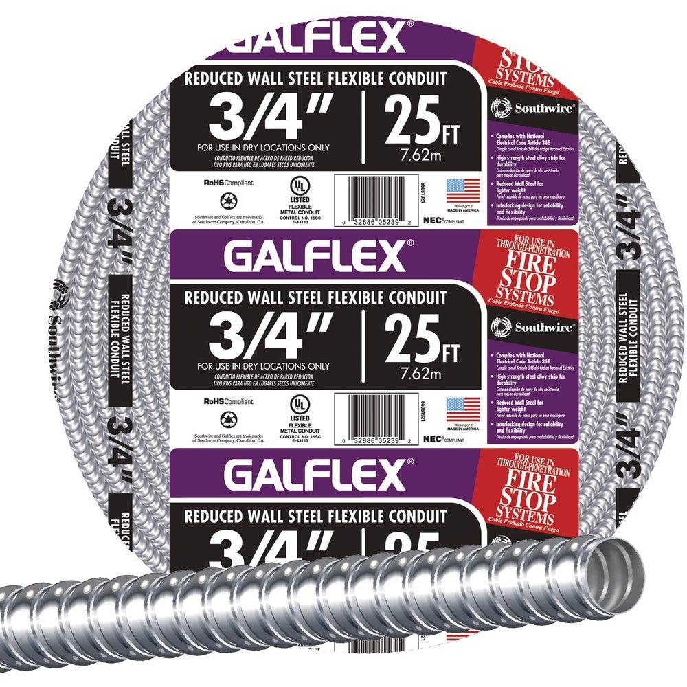 Southwire 55081921 Southwire Steel Flexible Metal Conduit