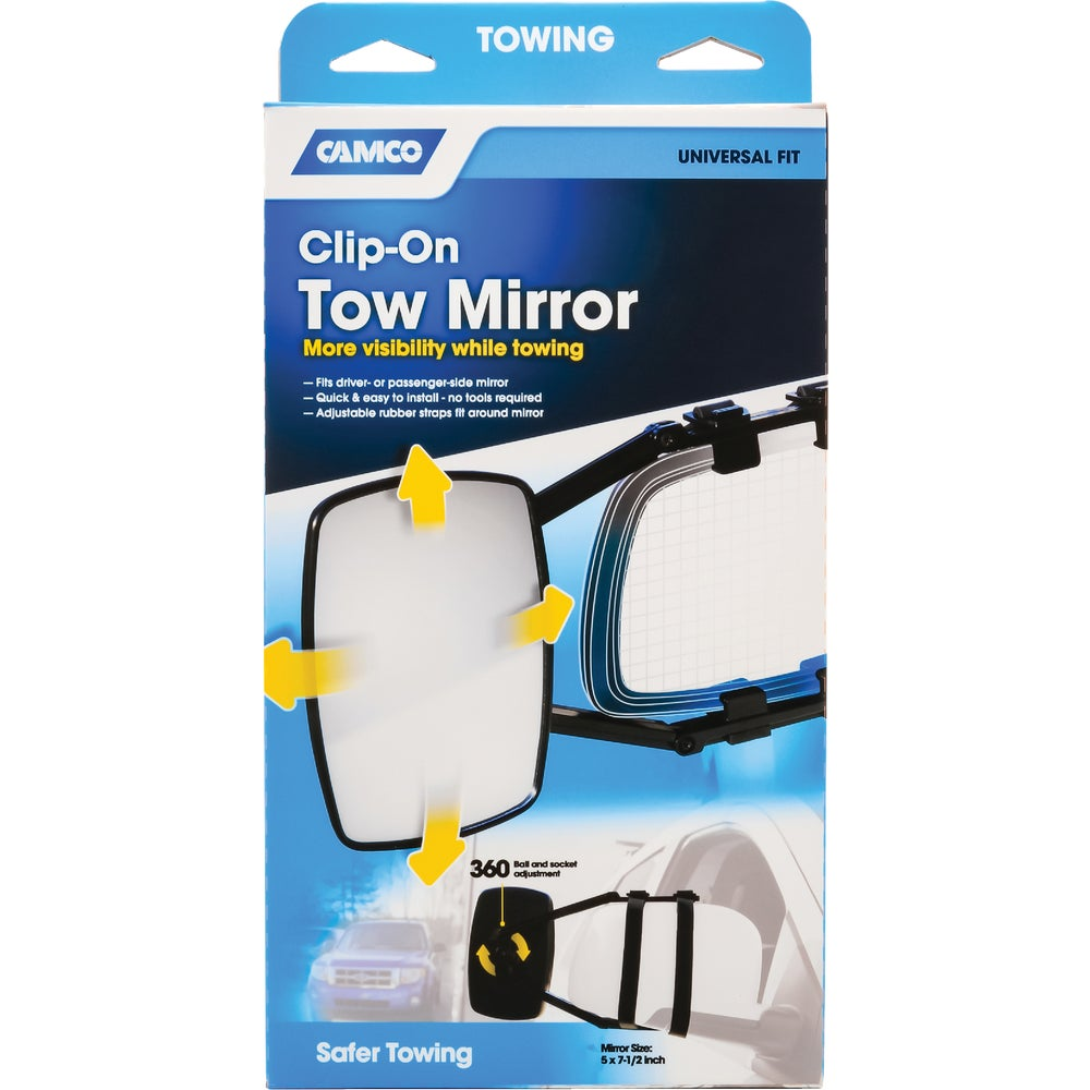 Camco Mfg Inc Rv 25650 Camco Clip On Towing Mirror Family Hardware