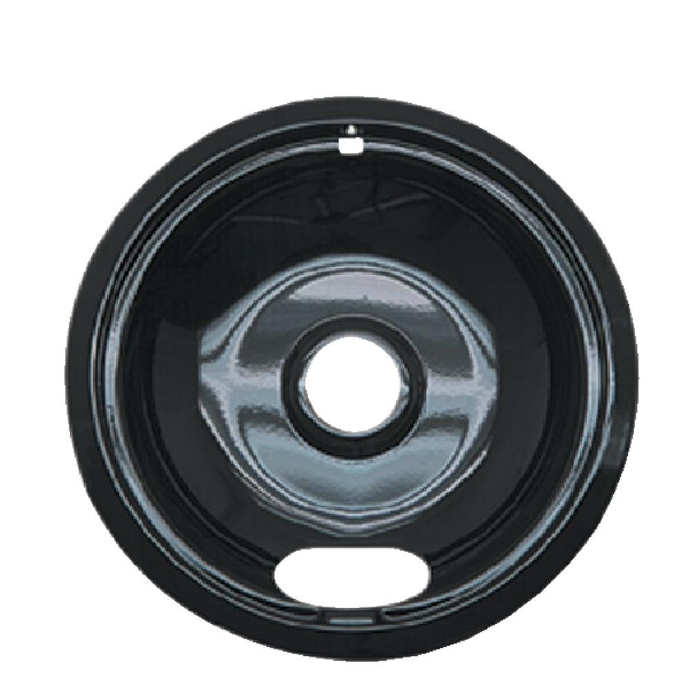 Range Kleen P 101 Black Porcelain Universal Drip Pan