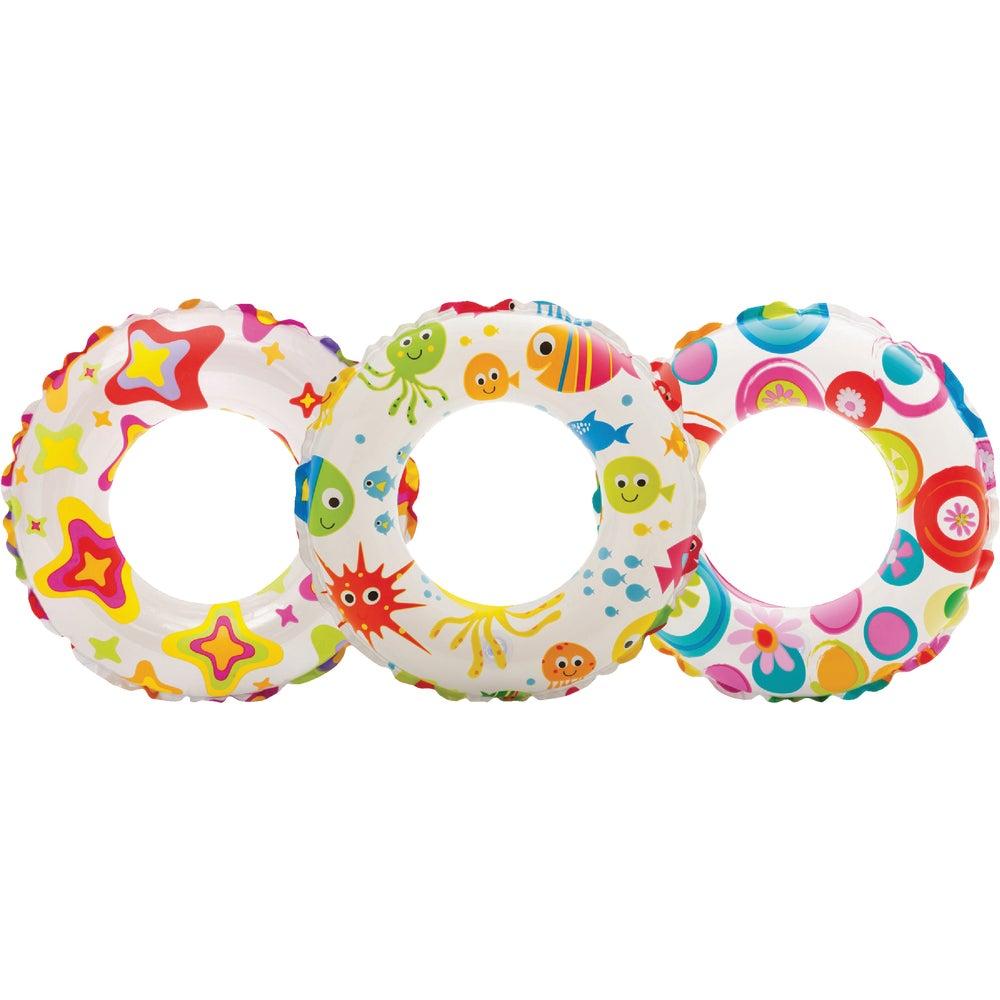 "Intex Recreation 59230EP Lively Print Swim Ring 20/"""